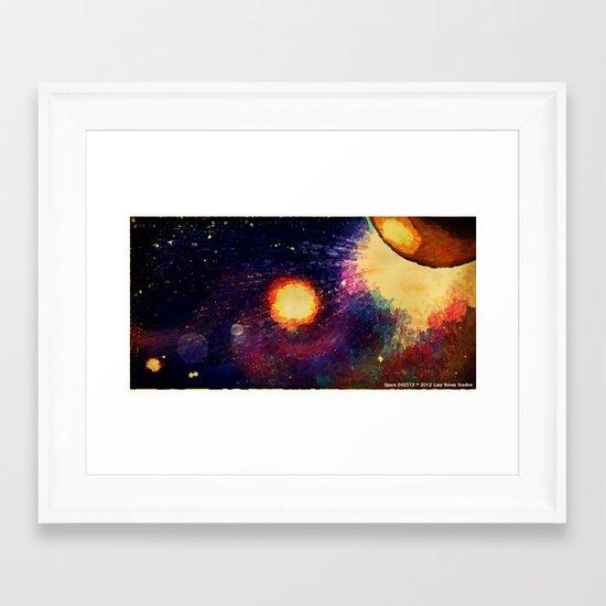SPACE 04-25-12 Framed Art Print