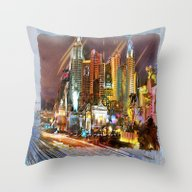 Vegas Throw Pillow