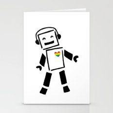 The Pride Boogie Bot Stationery Cards