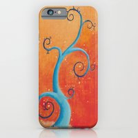 iPhone & iPod Case featuring Raining Fire by iCanSeeMusic