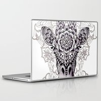 giraffe Laptop & iPad Skins featuring Giraffe by BIOWORKZ