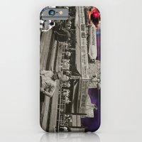 iPhone Cases featuring A Day at the Beach by Imogen Art