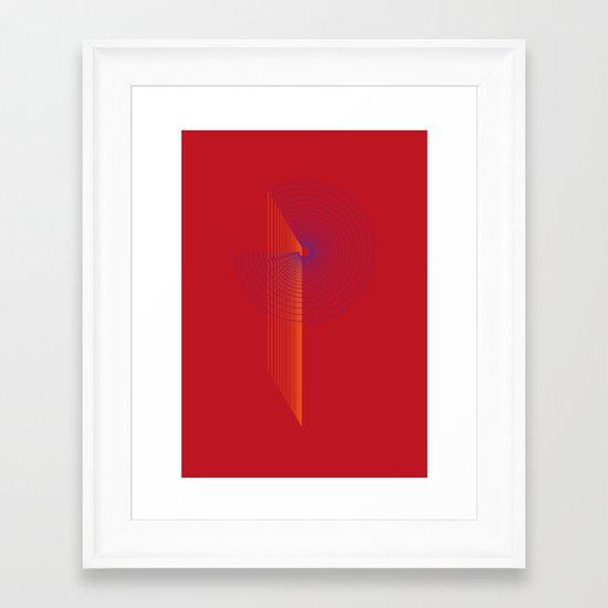 P like P Framed Art Print