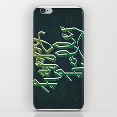 Happy Holly iPhone & iPod Skin
