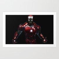 Ipad Iron Man  Art Print