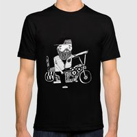 Route 66 Lover Mens Fitted Tee Black SMALL
