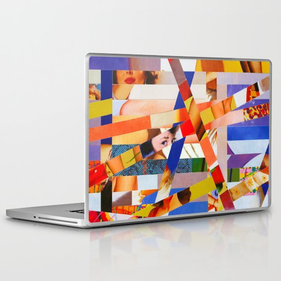 Jacqueline (stripes 7) Laptop & iPad Skin
