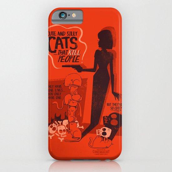 Cat Movie - orange iPhone & iPod Case