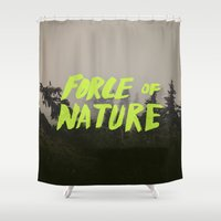 Force Of Nature X Cloud … Shower Curtain