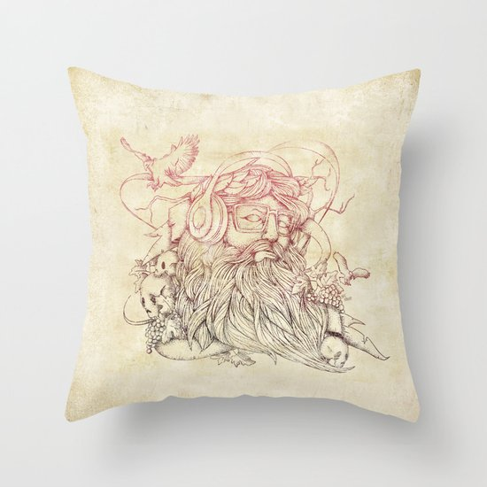 Listen to your soul Throw Pillow
