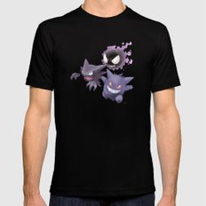 GHOSTS! - Pokémon Mens Fitted Tee Black SMALL
