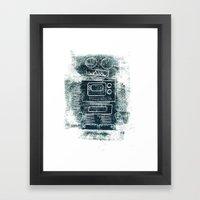 Robot Robot Framed Art Print