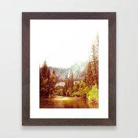Yosemite Falls Framed Art Print