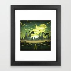 Radioactive Tranquility Framed Art Print