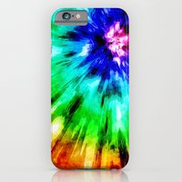 Tie Dye Meets Watercolor iPhone 6 Slim Case