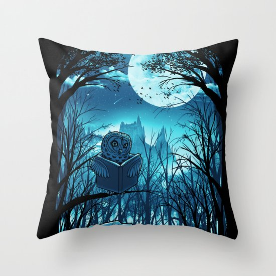 Bedtime Story Throw Pillow