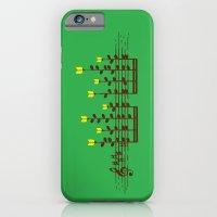 Music notes garden iPhone 6 Slim Case