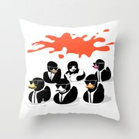 Reservoir Ducks Throw Pillow