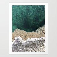Hot springs 2 Art Print