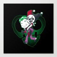 Crazy In Love Canvas Print
