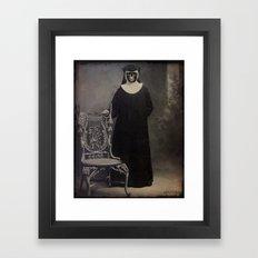 The Nun Framed Art Print