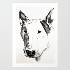 ATHOS. Art Print