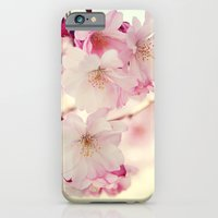 cotton candy flowers iPhone 6 Slim Case
