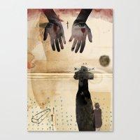 LOLITA : DYING// Canvas Print