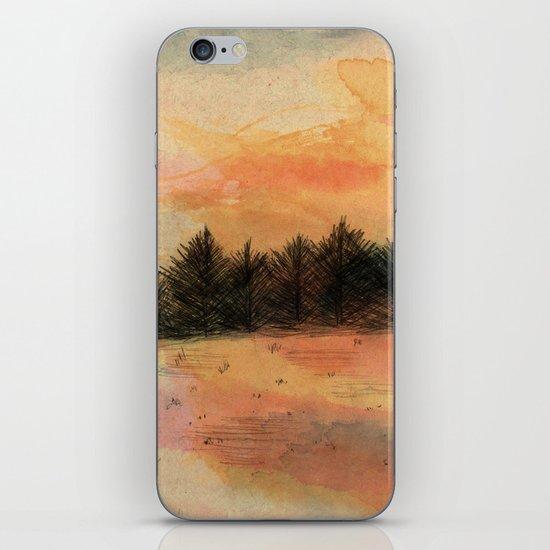 Horizonte distante iPhone & iPod Skin