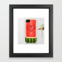 Summer Love. Framed Art Print