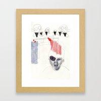 Pirate Boy Framed Art Print