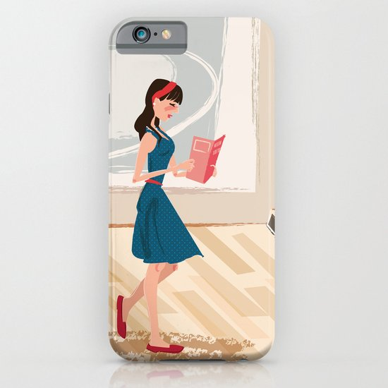 Pretty Girl at the Art Museum iPhone & iPod Case