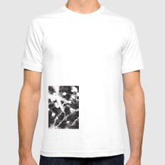 Photogram SMALL White Mens Fitted Tee