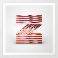 The Letter Z Art Print