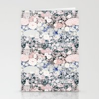 Japanese teahouse Stationery Cards