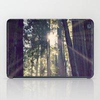 Redwoods Hike iPad Case