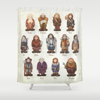 dwarves  Shower Curtain