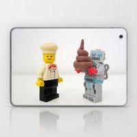 Lego cook & robot misunderstanding Laptop & iPad Skin