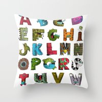 The Monsterbet Throw Pillow