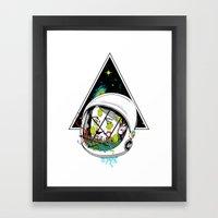 Space Gummies Framed Art Print