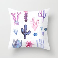 Pinata Cactus Throw Pillow