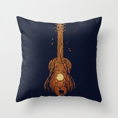 SOUNDS OF NATURE Throw Pillow