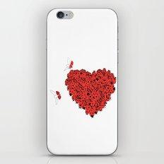Valentine's Heart iPhone & iPod Skin