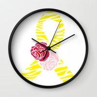Endometriosis Awareness … Wall Clock