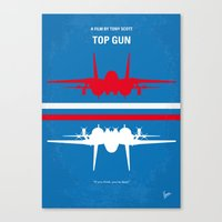 No128 My TOP GUN Minimal… Canvas Print