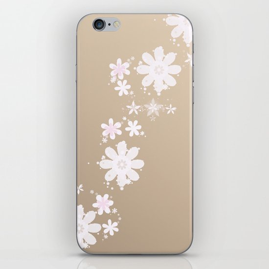 FLOWER RAIN iPhone & iPod Skin