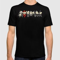 Red Dwarf Mens Fitted Tee Black SMALL