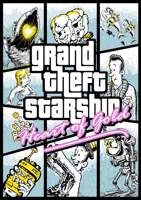 Grand Theft Auto : Heart of Gold Art Print