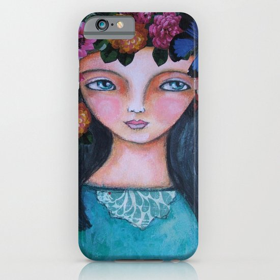 Today I am a flower! iPhone & iPod Case