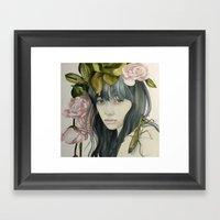 Stillness Framed Art Print
